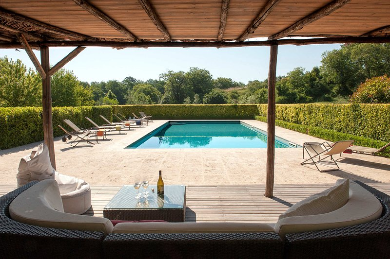 Villa Rivombrosa, holiday rental in Porano