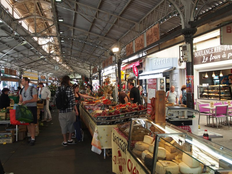 Famous Old Market in Antibes