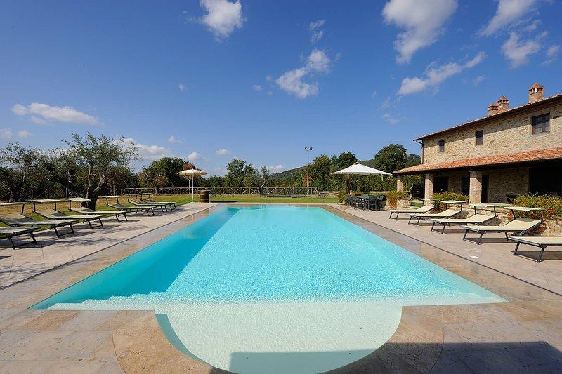 Villa Trasimeno Delux, vacation rental in Borghetto