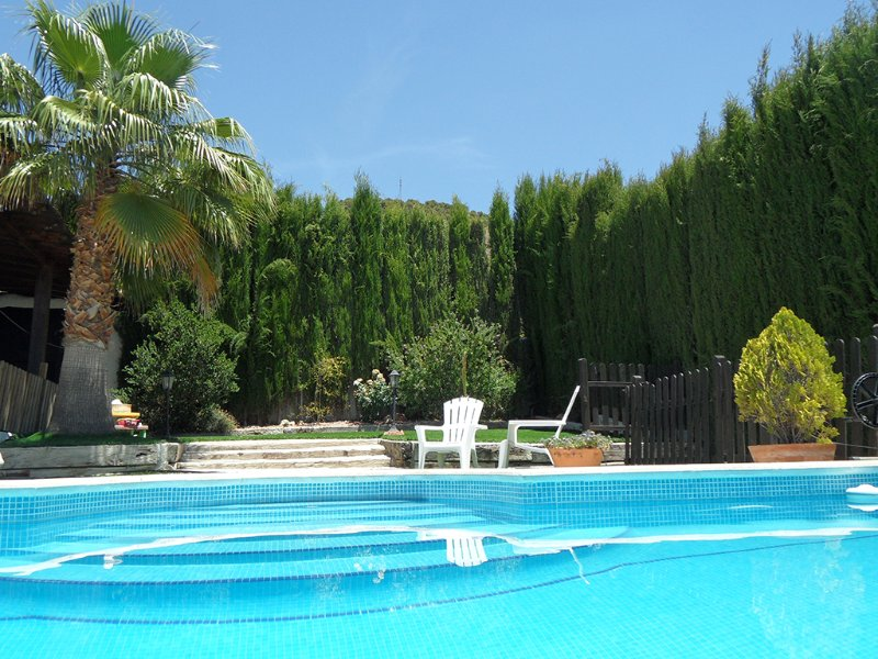 Stunning house with view near Granada Collado, swimming pool, vacation rental in Conchar
