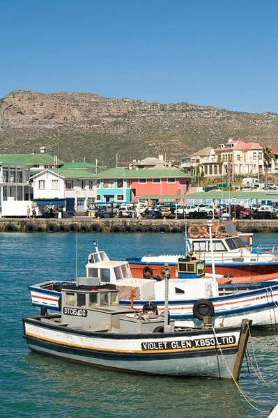 Kalk Bay fishing village & harbour  10 minute walk south through St James.