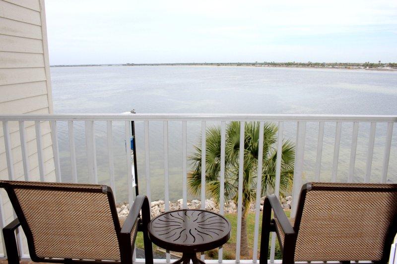 Hermosa vista desde el balcón!