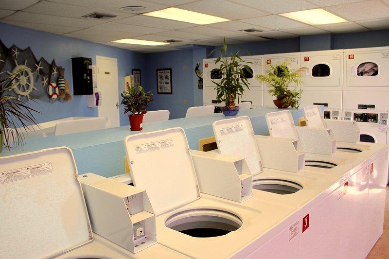 Servicio de lavandería dentro de un edificio!