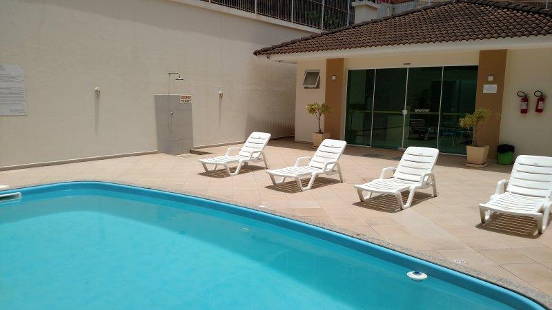 Der Pool der Wohnanlage - La Eigentumswohnung Pool.