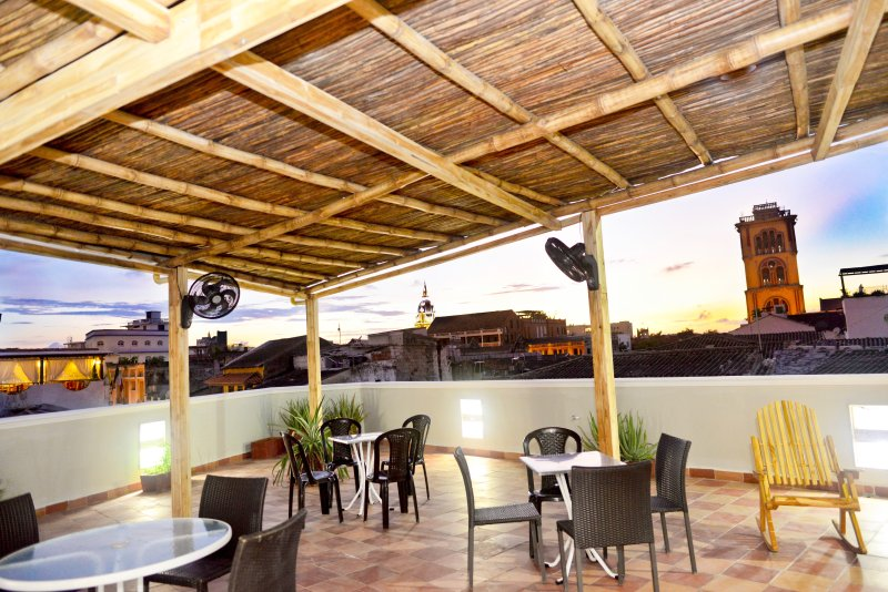 Gorgeous roof deck & view