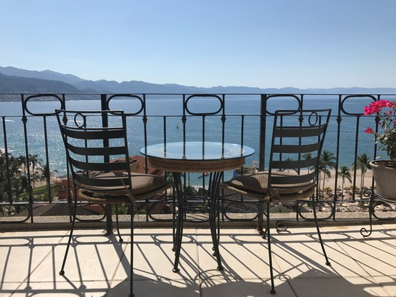 Balcony overlooking the beautiful Banderas Bay