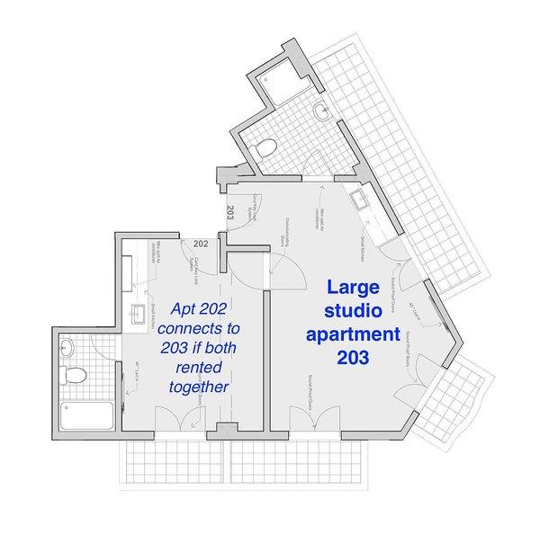 Apt floor plan (NOTE 203 only!)
