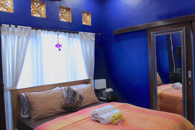 La habitación azul.