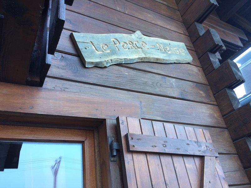 Chalet privé Le Perce Neige Thollon-les-Mémises