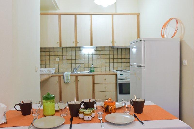Cocina Habitación doble