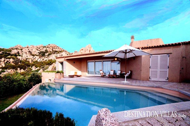 Villa Dei Graniti, vacation rental in Costa Paradiso