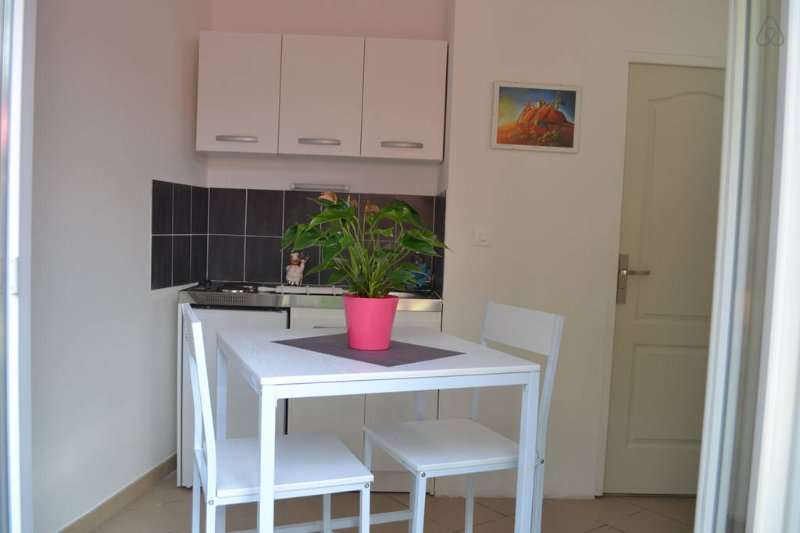 Appartement T1' remis à neuf avec vue sur jardin, holiday rental in Bellegarde