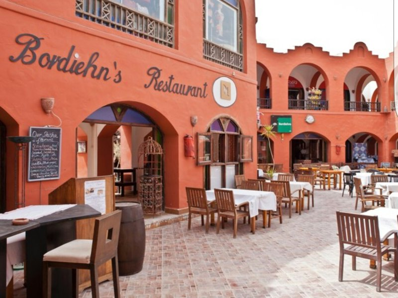 Bordiehn`s Restautant at 200m, there are also camel steak