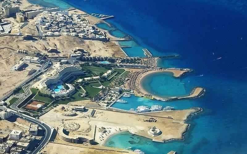 Hurghada from the air