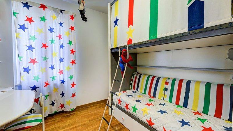 PINOCHO habitación Habitación doble utilizado exclusivamente como un apéndice de LISA y LASKA.
