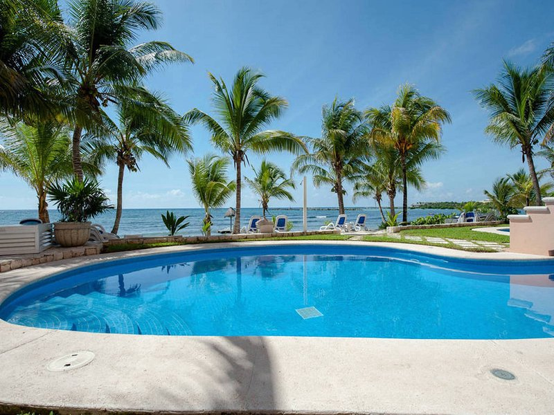 Riviera Maya Haciendas, Quinta Maya  - The First Swimming Pool with Garden View