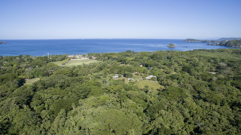 Luftaufnahme des nächstgelegenen Strand, Brasilito