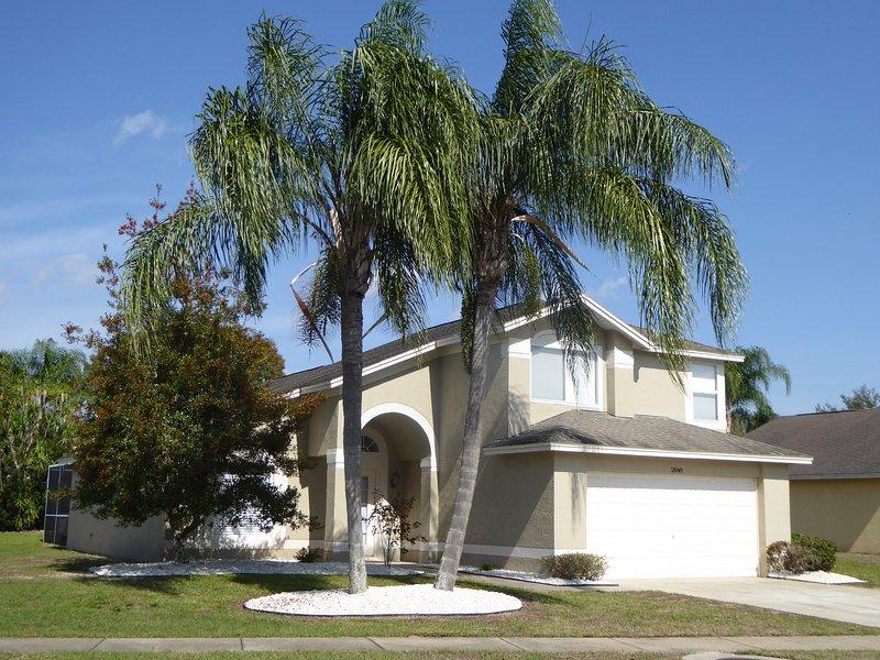 Prachtige palmbomen!