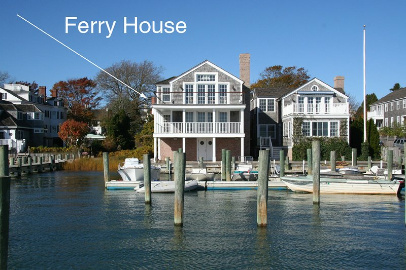 Ferry House on the Left