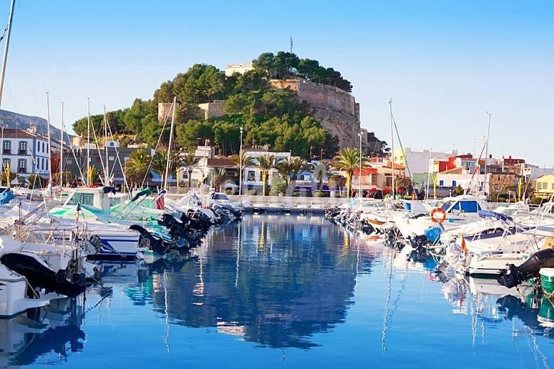 vistas de Denia (castillo/puerto)
