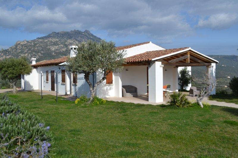 Costa Smeralda - Grande villa indipendente immersa nel verde, vista mare, vacation rental in Cugnana