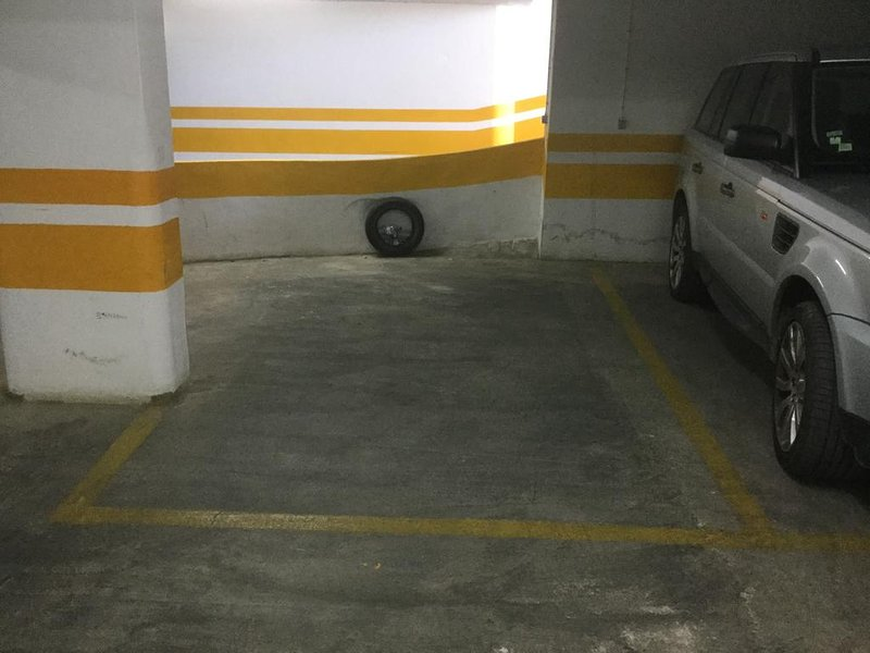 parking spot in underground garage