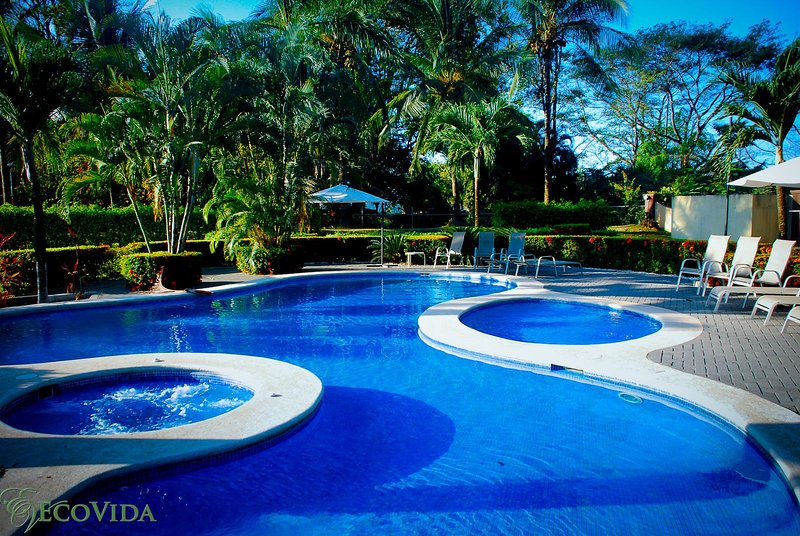 Casa Sol is in a beautiful gated community with two huge community pools