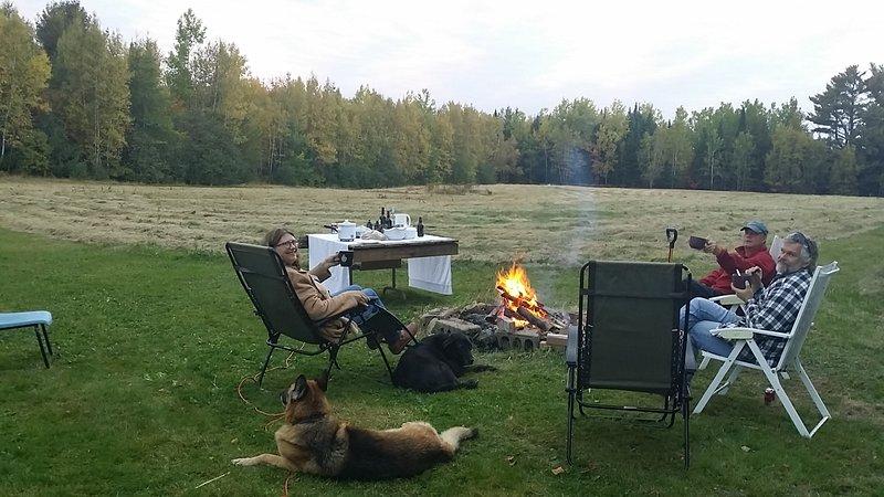 """Disfrutar de una fogata cuando las condiciones del índice de incendios de la provincia son """"verdes"""""""