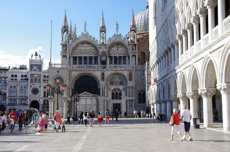 70 steps: Saint Mark's Cathedral