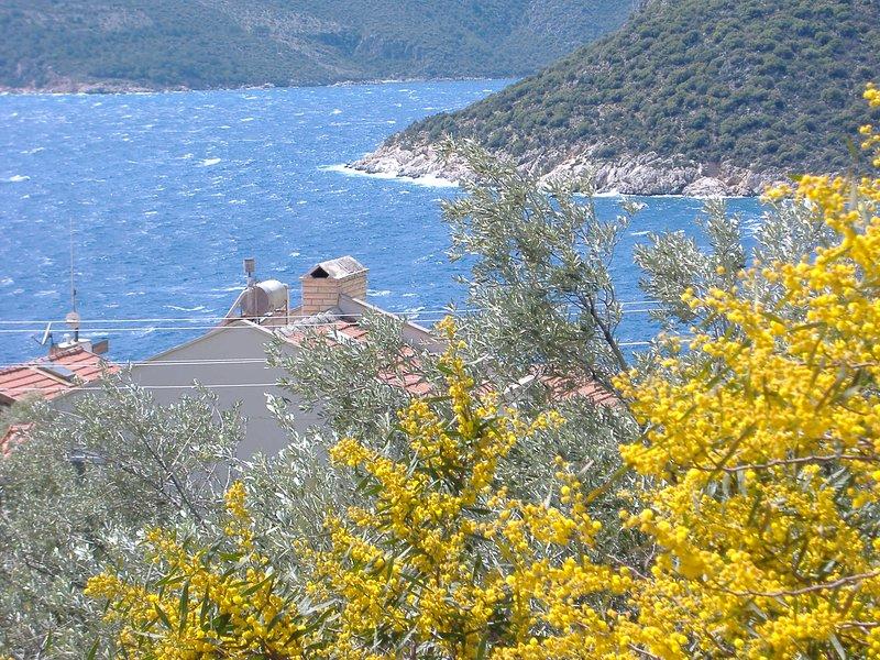 Kalkan, Villa com vista mar, direkt perto do mar