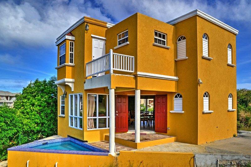 Tauchen Sie ein in den schönen Tropen von St. Peter, Barbados, wenn Sie dieses herrliche Ferienhaus Villa buchen.