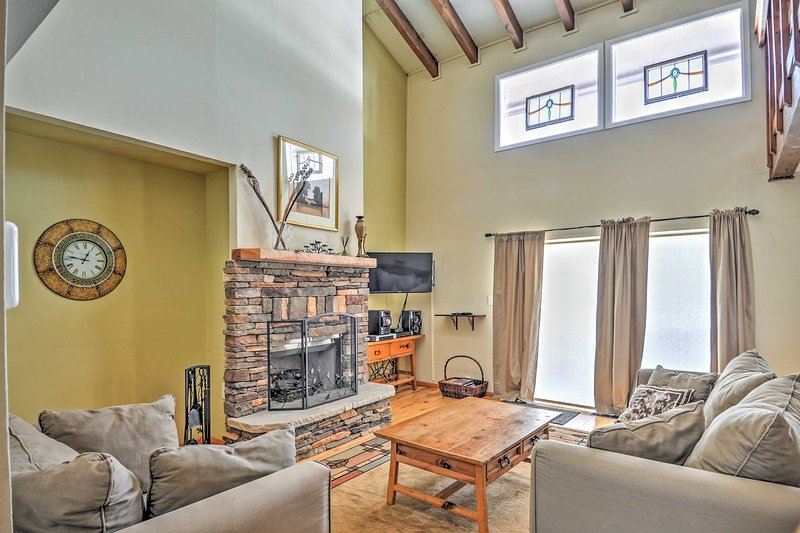 Escape to serenity when you stay in this 1-bedroom Pagosa Springs vacation rental condo.