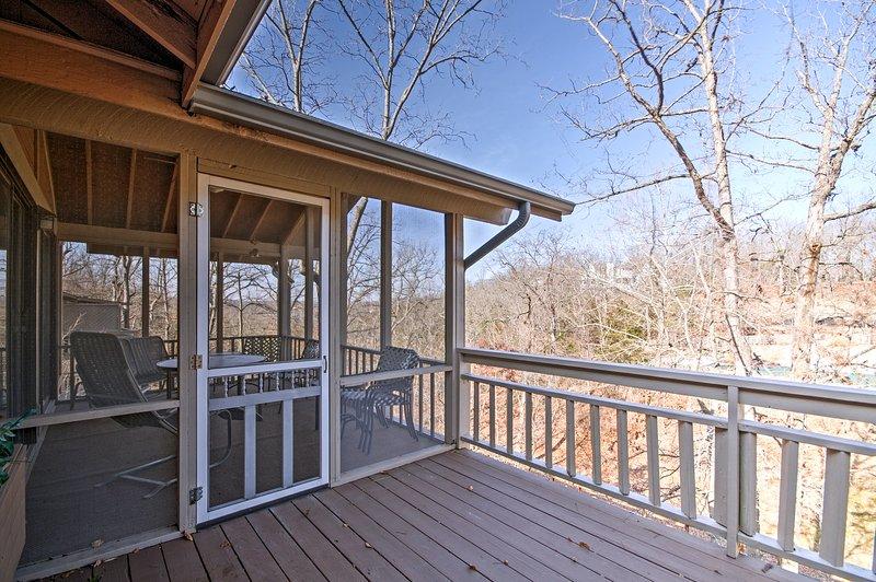 Il proiettati in zona veranda è un ottimo posto per trascorrere del tempo con i vostri cari o bambino pelliccia.