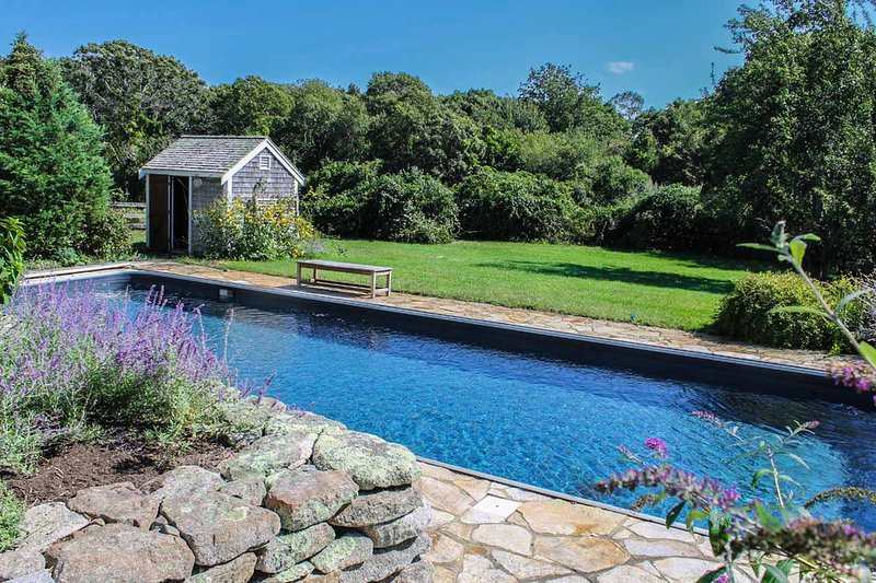 Pool, Patio and Grounds that surround the Pool
