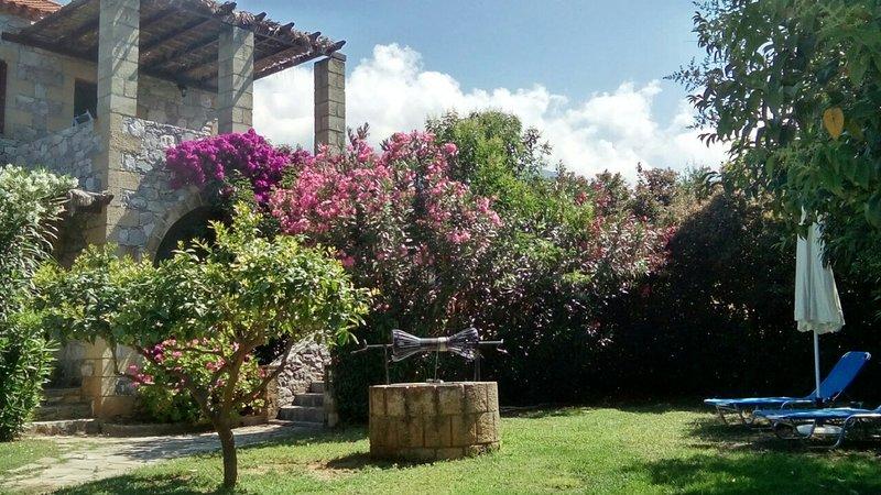 Gartenbereich Stoupa Paradise Complex