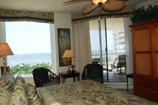Master Bedroom With Access To Beach Front Balcony