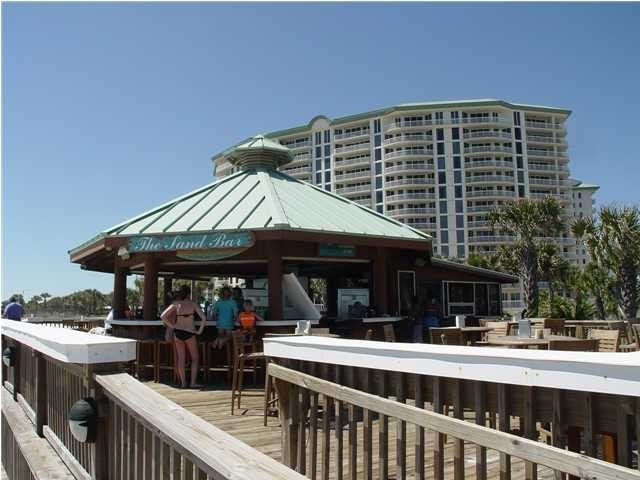 Sand Bar Serving Lunch & Drinks Beach Front