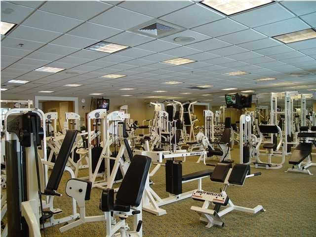 Two Exercise Rooms Available