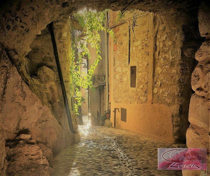 Casa Luna - Romantico nido su 3 livelli nel centro storico di Apricale, holiday rental in Castel Vittorio