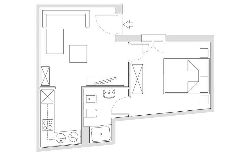 40 m² | ground floor