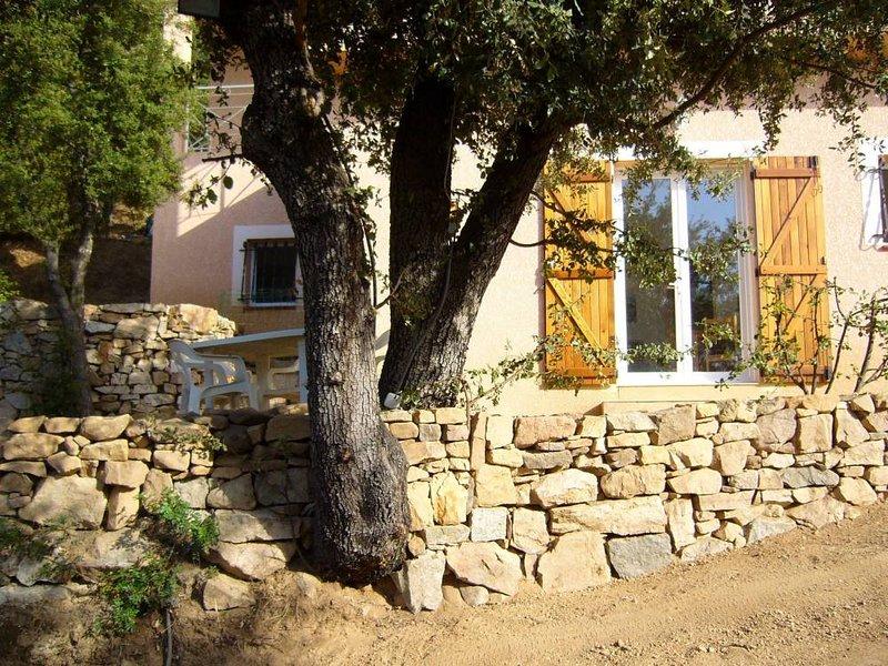 Peaceful vacation, coastline Corsica