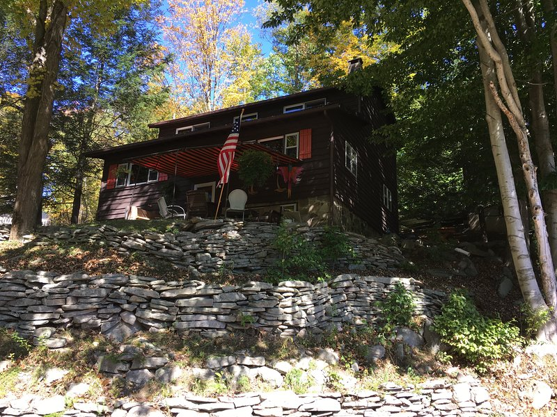 4 SEASON FUN AT LK WALLENPAUPACK-BOAT SLIP-FIREPLACE/PIT,POOL,WIFI,GRILL,VIEWS, location de vacances à Hamlin