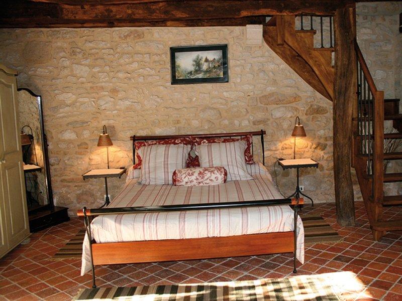 La Laugérie chambre indépendante en duplex, Ferienwohnung in Hautefort