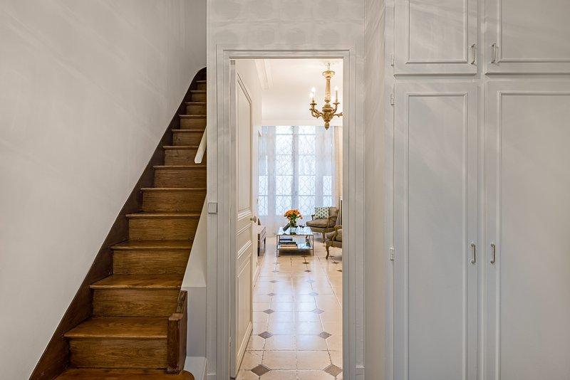 L'ingresso dell'appartamento