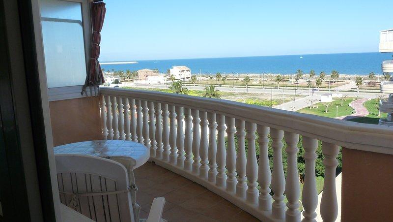 Preciosas vistas al mar Daimus, alquiler vacacional en Guardamar de la Safor