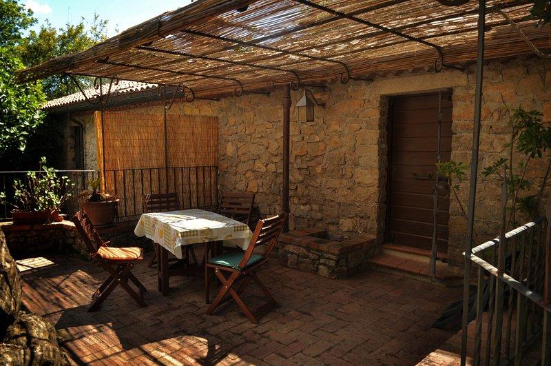 La Ripa di Campo Soriano- La Quercia, holiday rental in Vallecorsa