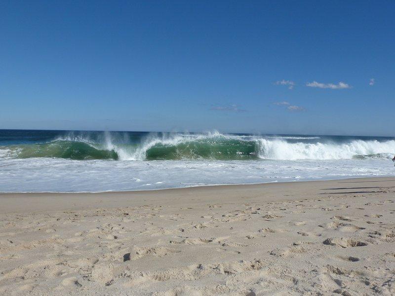 arena y el surf