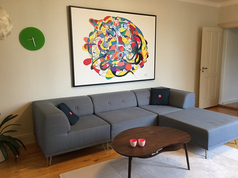 Spacious flat in trendy Vesterbro, Ferienwohnung in Roedovre Municipality