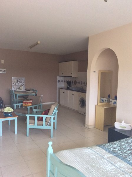 Studio with stunning unspoilt Sea View Geros Kipos Paphos, holiday rental in Geroskipou