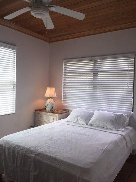 Schlafzimmer mit Queen-Size-Bett